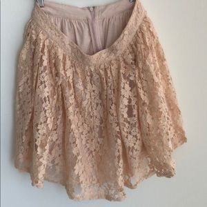 Forever 21 lace skirt 27